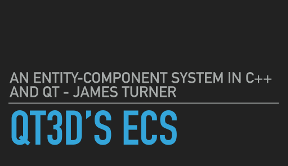 Slides for Qt3D's ECS: An Entity-Component System in C++ and Qt