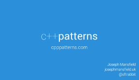 Slides for C++ Patterns