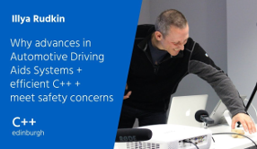 Slides for Why advances in Automotive Driving Aids Systems (ADAS) + efficient C++ meet safety concerns